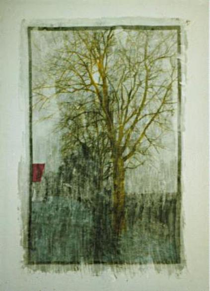 Feld Baum Haus